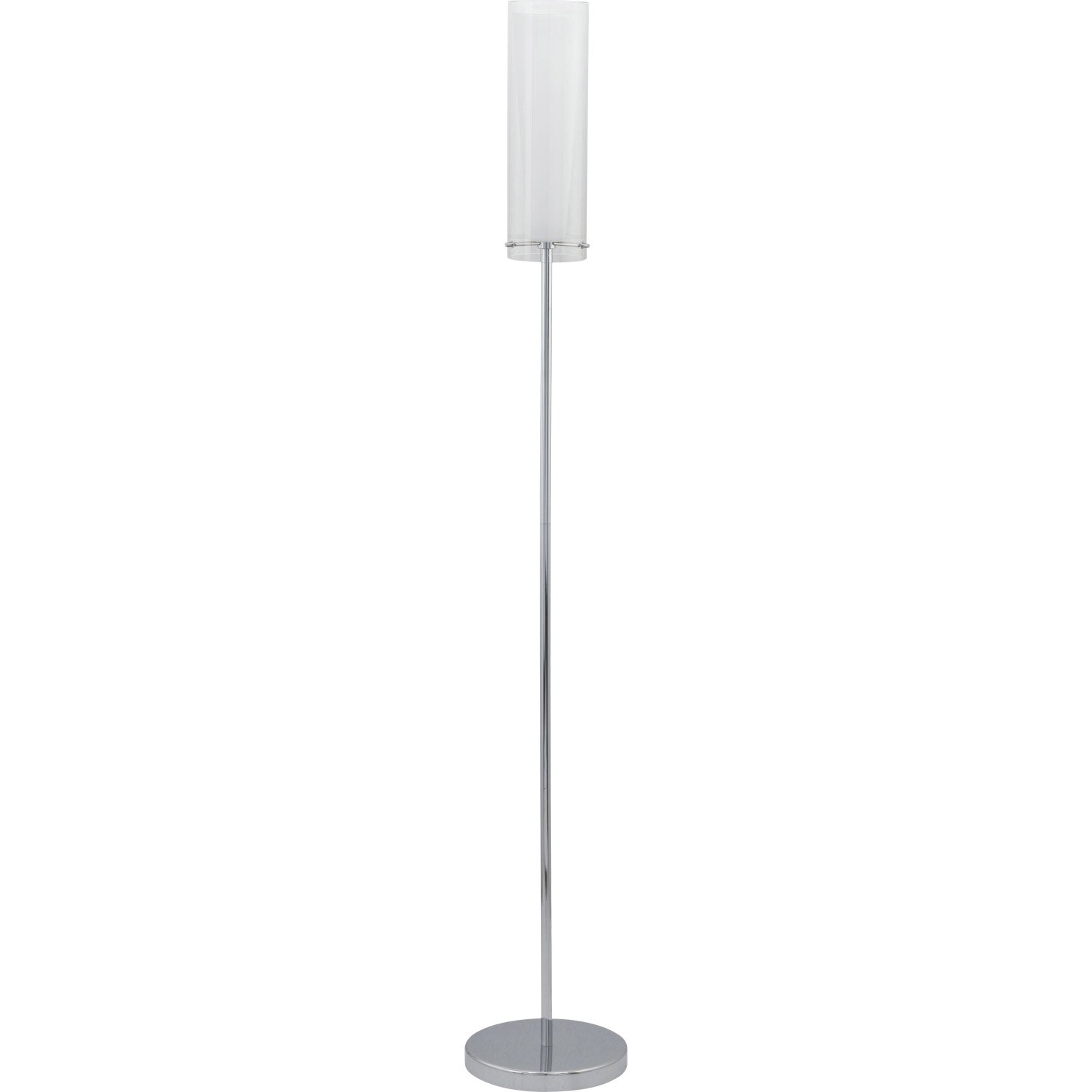 lampadaire pinto eglo 147 cm blanc 60 w leroy merlin. Black Bedroom Furniture Sets. Home Design Ideas