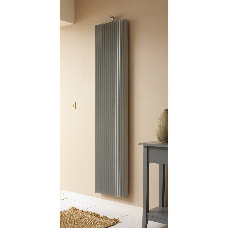 radiateur chauffage central iguana aplano gris sabl cm 1798 w leroy merlin. Black Bedroom Furniture Sets. Home Design Ideas