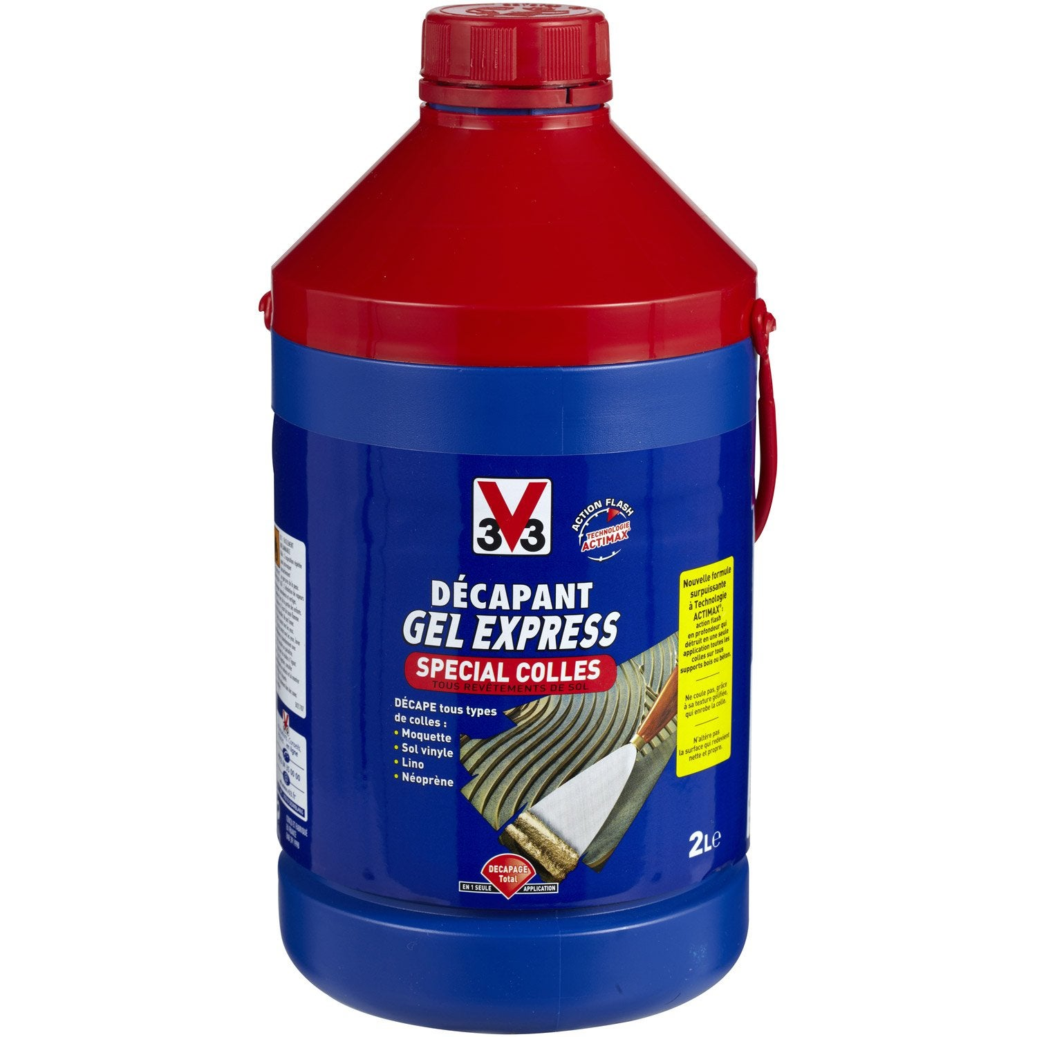 D capant colle v33 gel express 2 l leroy merlin for Colle carrelage exterieur leroy merlin