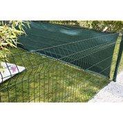 Panneau grillagé NATERIAL vert H.1 x L.2.48 m, maille H.200 x l.50 mm