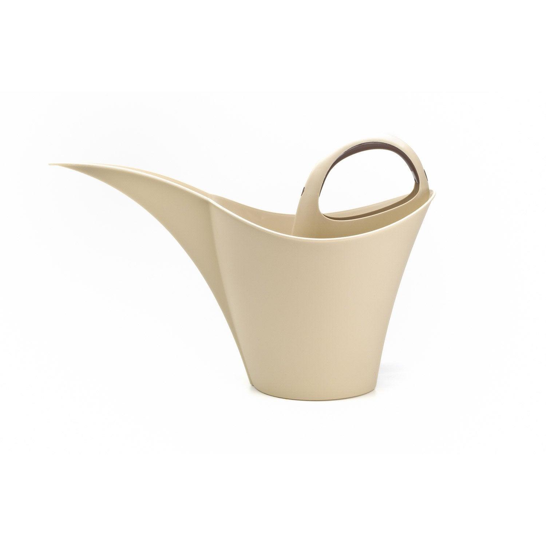 arrosoir keira 2l beige leroy merlin. Black Bedroom Furniture Sets. Home Design Ideas