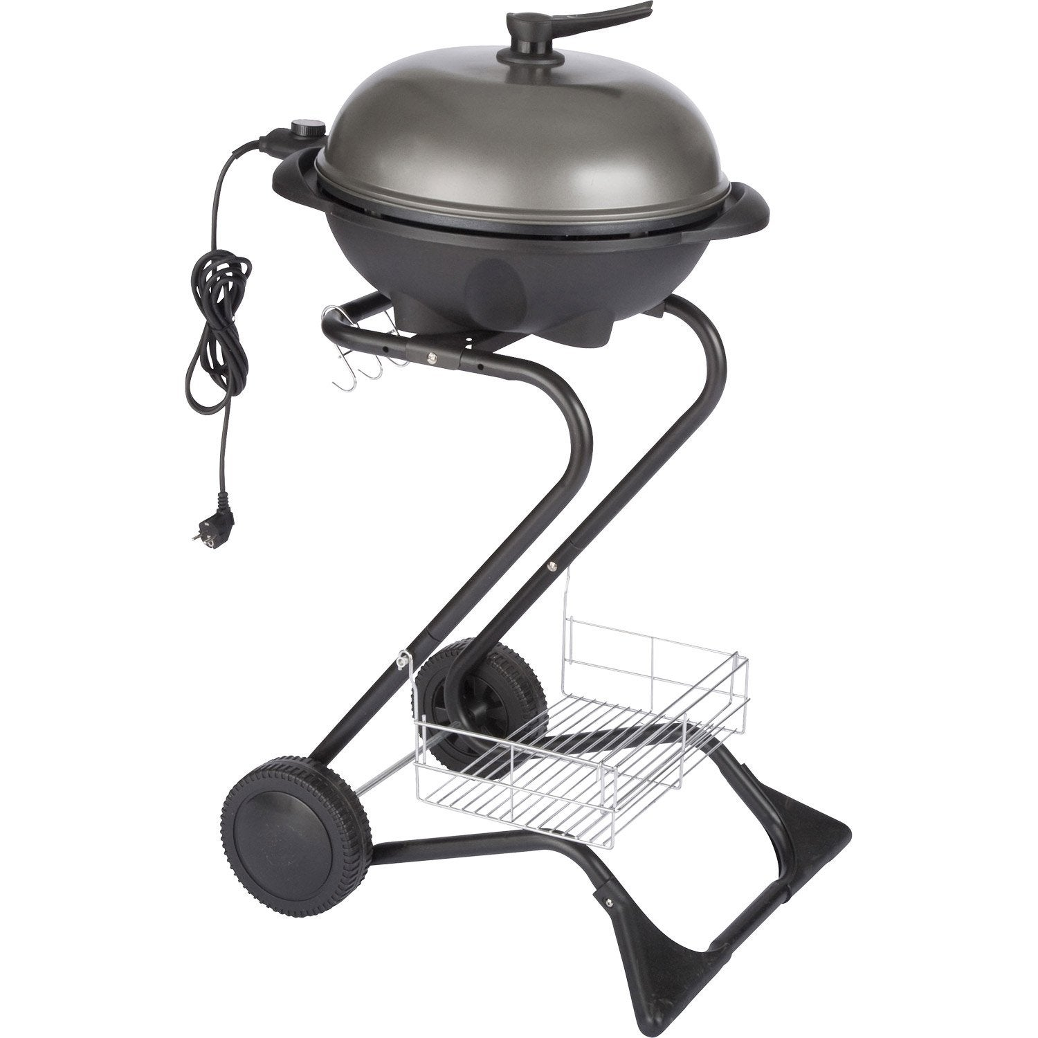 Barbecue lectrique paname gris leroy merlin - Barbecue electrique leroy merlin ...