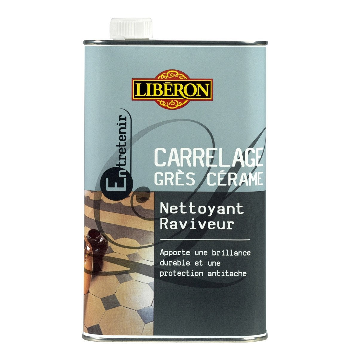 nettoyant raviveur carrelage liberon 1 l leroy merlin. Black Bedroom Furniture Sets. Home Design Ideas