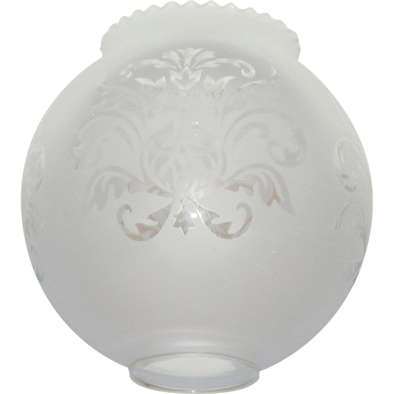 verrerie boule blanc 14 cm leroy merlin. Black Bedroom Furniture Sets. Home Design Ideas