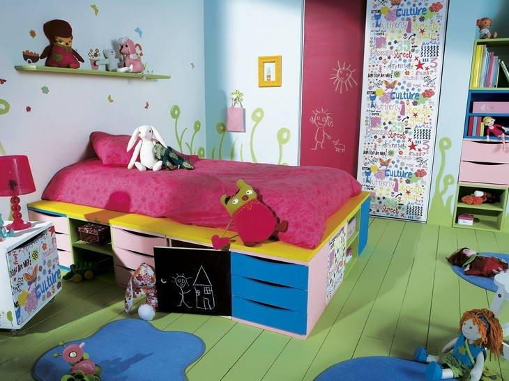 des chambres d enfant bien rang es leroy merlin pictures. Black Bedroom Furniture Sets. Home Design Ideas