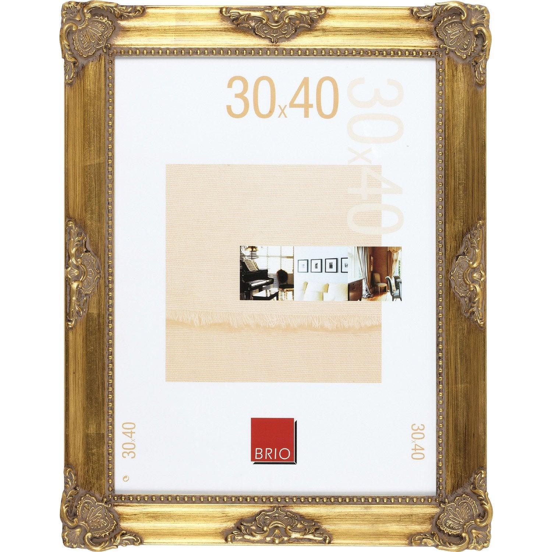 Cadre op ra 30 x 40 cm dor e leroy merlin - Cadre peinture leroy merlin ...