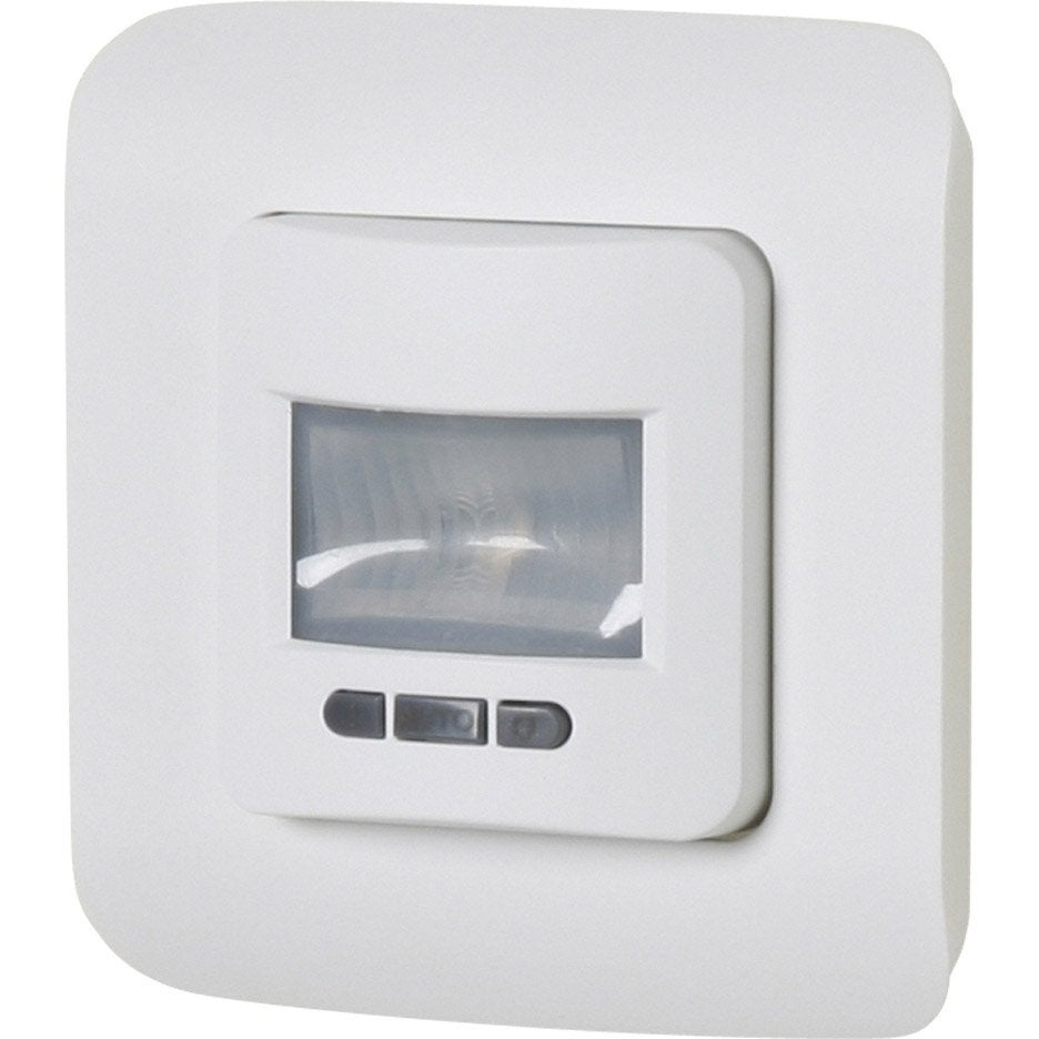 Interrupteur automatique cosy lexman blanc leroy merlin for Eclairage exterieur automatique