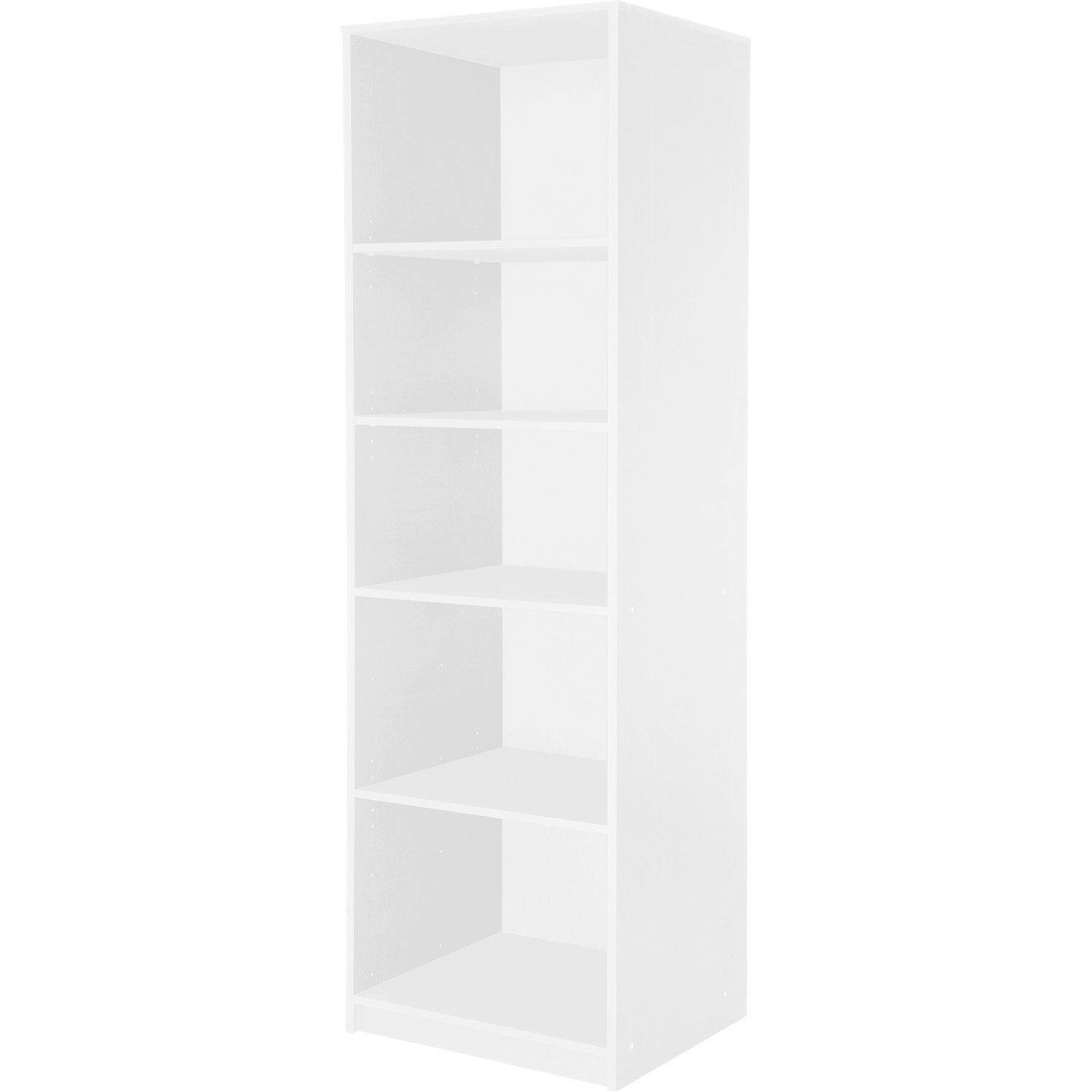 colonne spaceo dressing 61x193x50 cm blanc leroy merlin. Black Bedroom Furniture Sets. Home Design Ideas