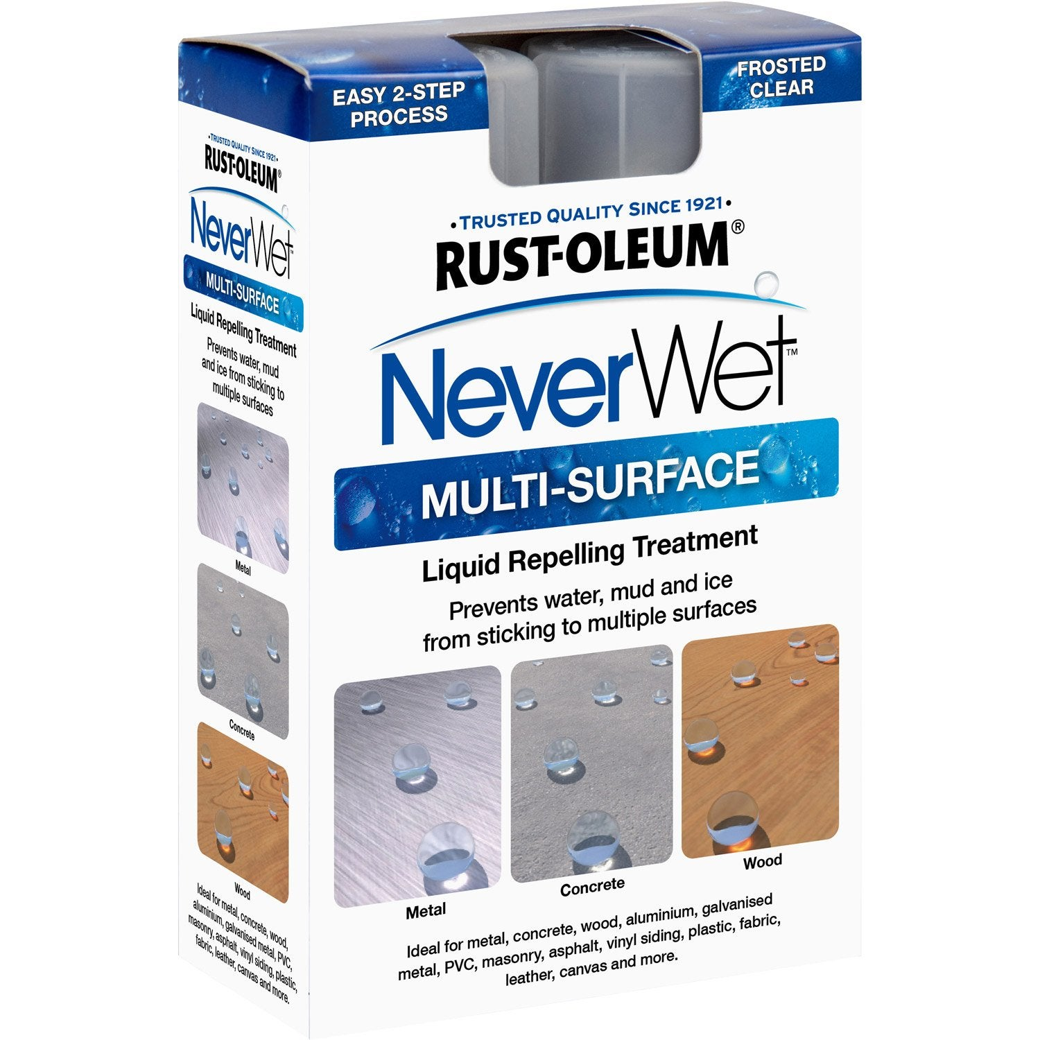 Imperm abilisant neverwet kit 800 ml leroy merlin - Kit reparacion baneras leroy merlin ...