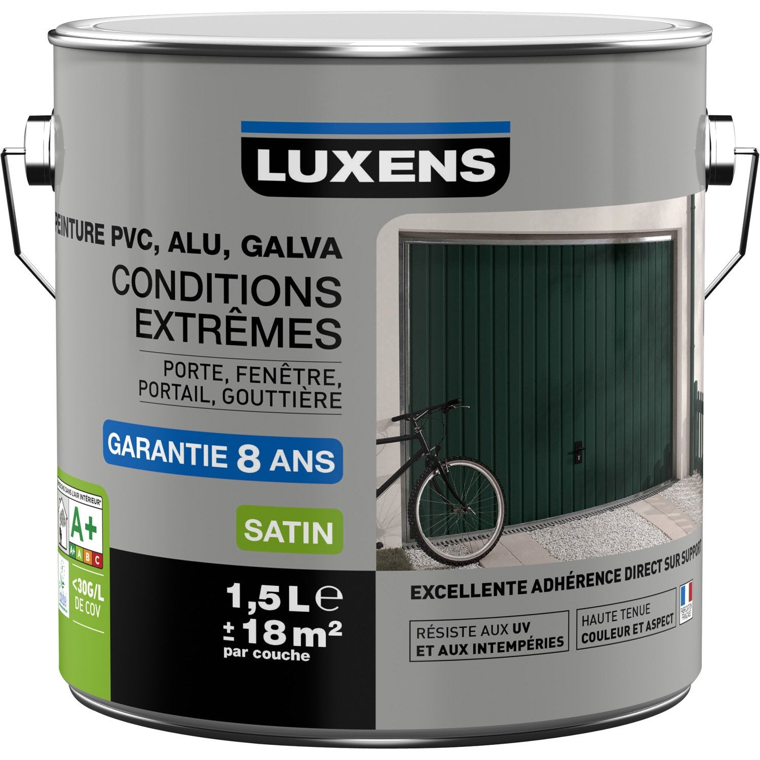 Peinture pvc alu galva ext rieur conditions extr mes for Peinture de porte de garage