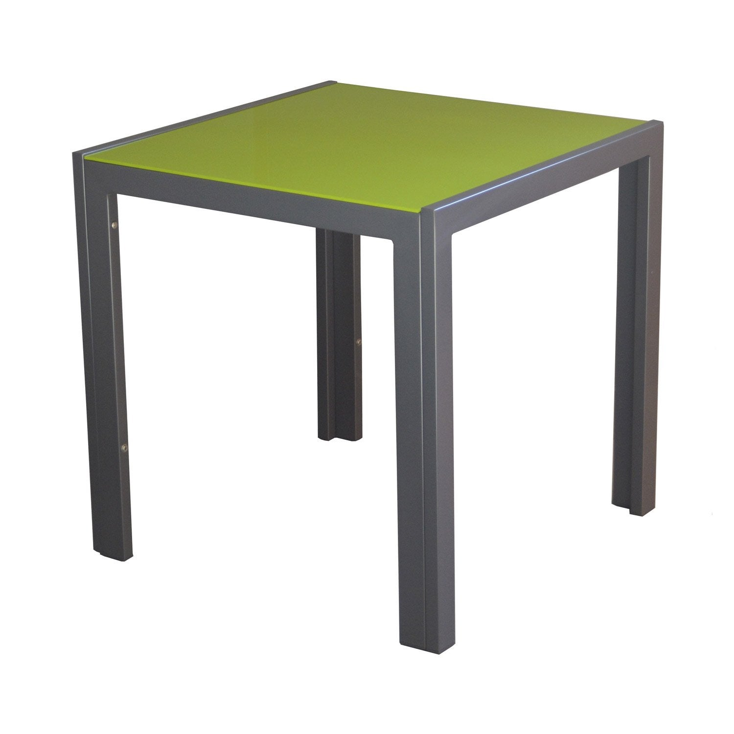 Table basse carr e grey mousse 2 personnes leroy merlin for Leroy merlin table basse