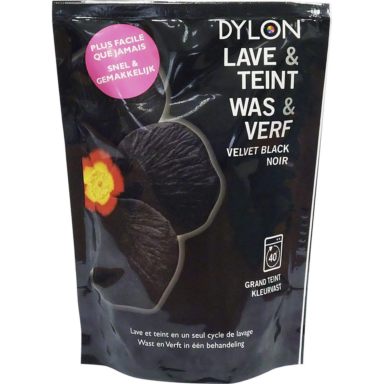 Teinture textile dylon noir poudre 400 g leroy merlin - Teinture textile noir ...