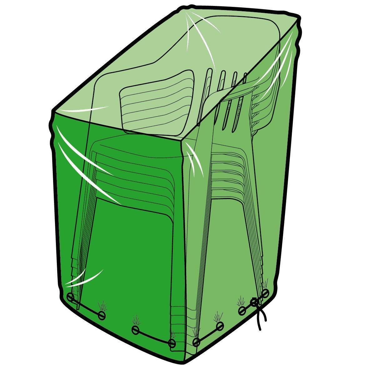 housse de protection pour chaises l 70 x l 70 x h 120 cm leroy merlin