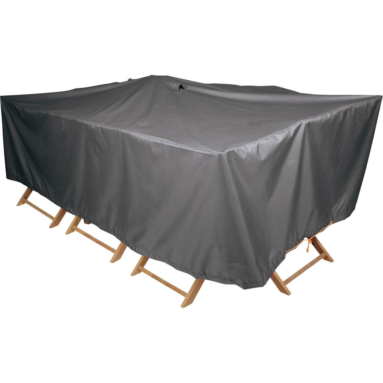 housse de protection pour table naterial l 240 x l 130 x h 60 cm leroy merlin