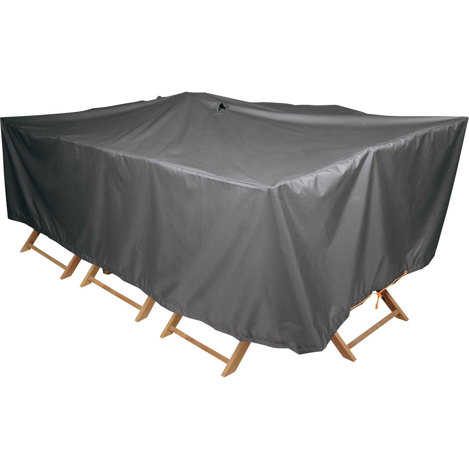 Housse de protection pour table naterial x x cm leroy merlin for Housse de salon de jardin hesperide