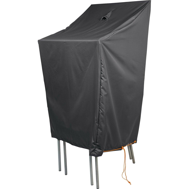 housse de protection pour chaises naterial l 66 x l 66 x h 120 cm leroy merlin