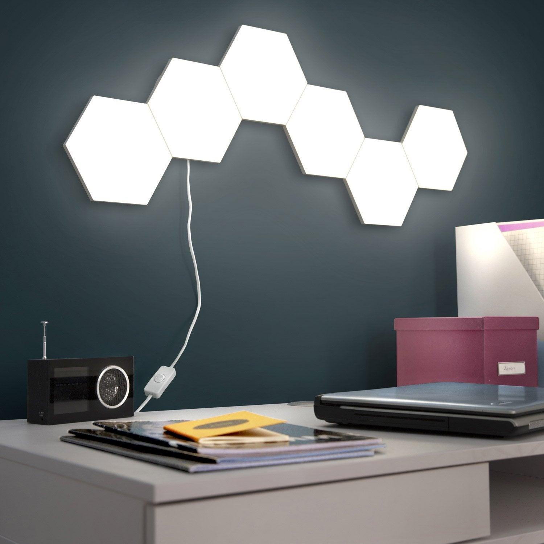 Super Extension panneau LED décoratif, led intégrée Puzzle, 1 x 2.9 W  FA93