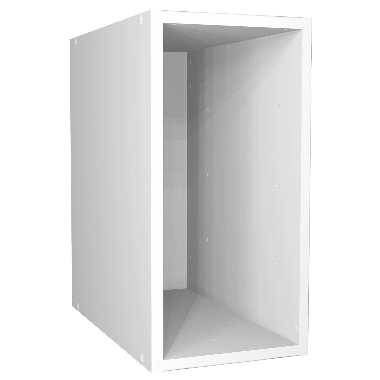 Etag re 1 2 case multikaz blanc x x cm leroy merlin - Etagere 6 cases ...