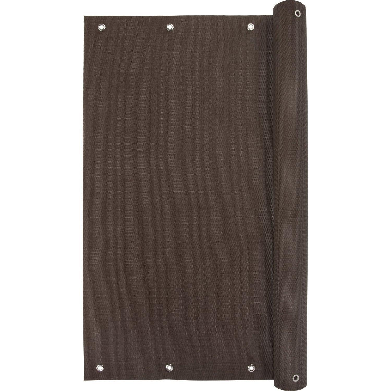brise vue brise vent pvc confidence cm x cm leroy merlin. Black Bedroom Furniture Sets. Home Design Ideas