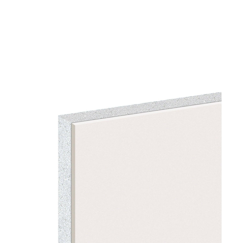 doublage en polystyr ne expans th 38 knauf 2 5 x ep 13 80mm r leroy merlin. Black Bedroom Furniture Sets. Home Design Ideas