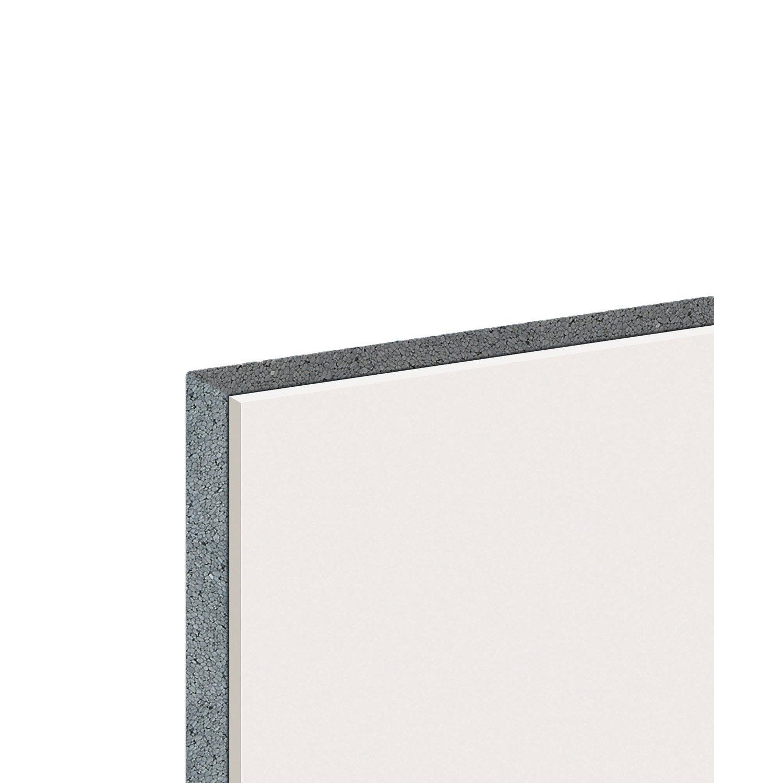 Doublage en polystyr ne expans th 32 knauf 2 5 x - Plaque de polystyrene expanse ...