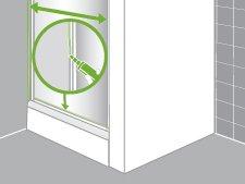 Comment installer une paroi de douche d 39 angle ou de face leroy merlin - Etancheite douche italienne leroy merlin ...