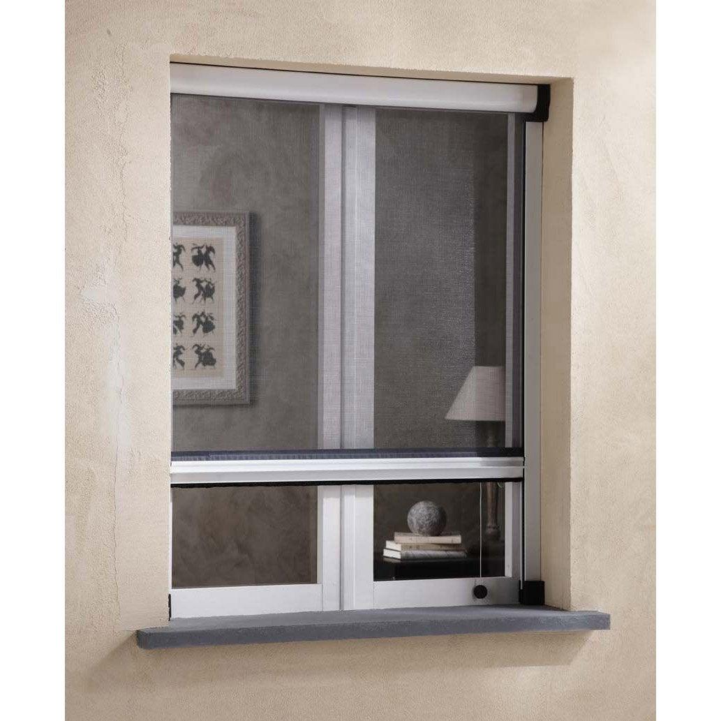moustiquaire pour fen tre enroulement vertical artens x cm leroy merlin. Black Bedroom Furniture Sets. Home Design Ideas