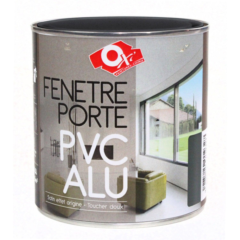Peinture pvc aluminium int rieur craie 0 5 l leroy merlin - Peinture pvc leroy merlin ...