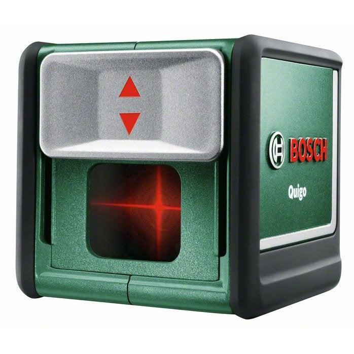 Niveau laser quigo bosch quigo 3 leroy merlin for Niveau laser exterieur bosch