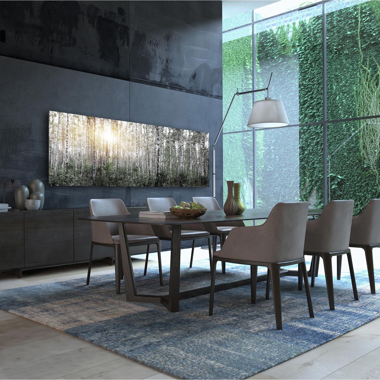 radiateur lectrique rayonnement decowatt foret 1200 w leroy merlin. Black Bedroom Furniture Sets. Home Design Ideas