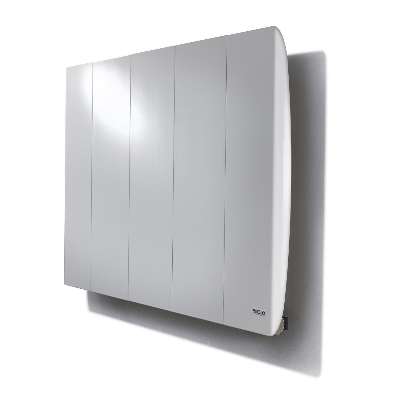 radiateur lectrique inertie fluide needo line r 1000w leroy merlin. Black Bedroom Furniture Sets. Home Design Ideas