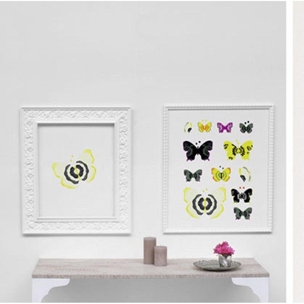 sticker papillons 49 cm x 69 cm leroy merlin. Black Bedroom Furniture Sets. Home Design Ideas