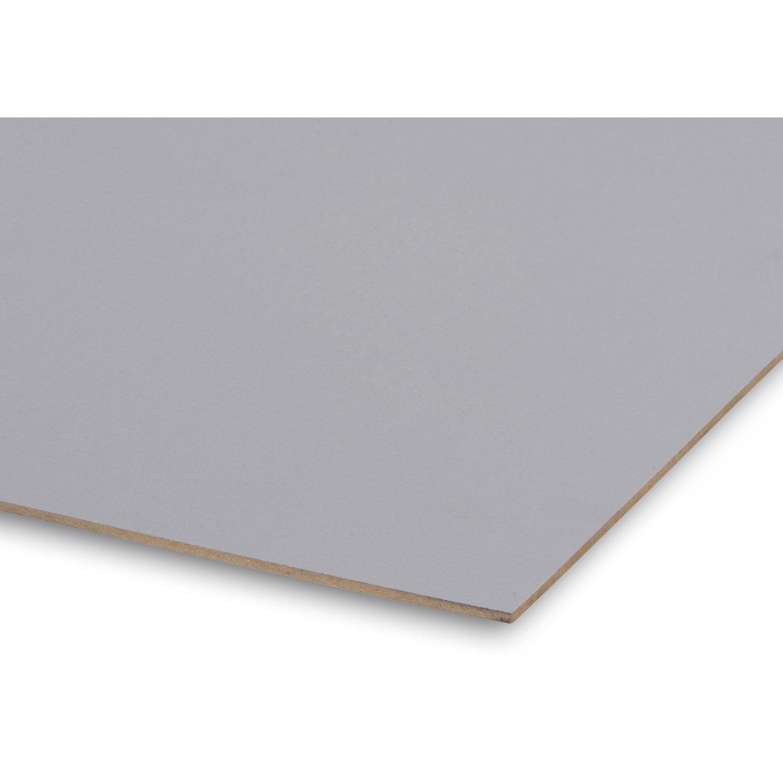 Panneau d cor laqu gris galet n 3 244x61 cm pais 3 - Galet leroy merlin ...
