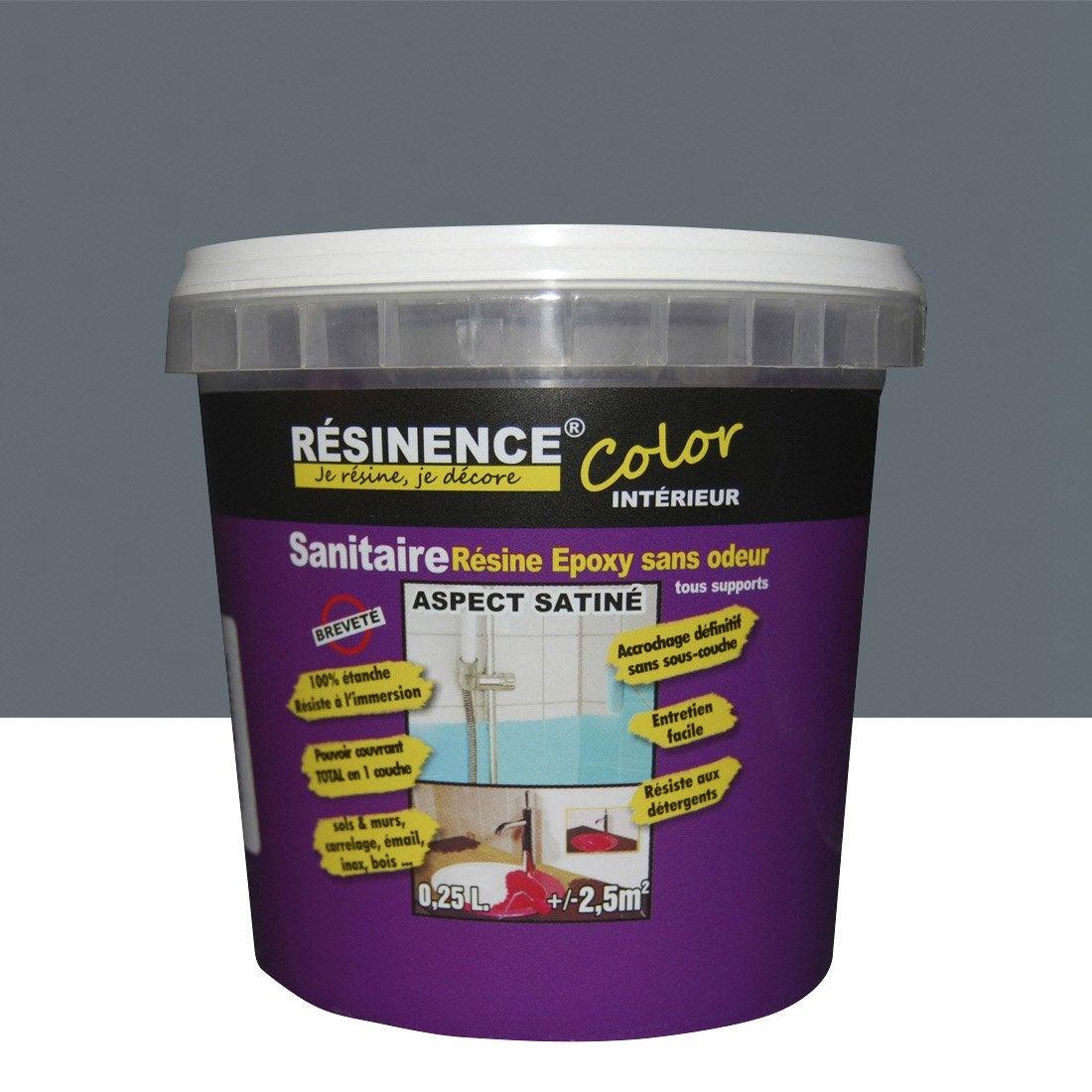 resinence gris taupe awesome couper le souffle peinture baignoire resinence comment repeindre. Black Bedroom Furniture Sets. Home Design Ideas