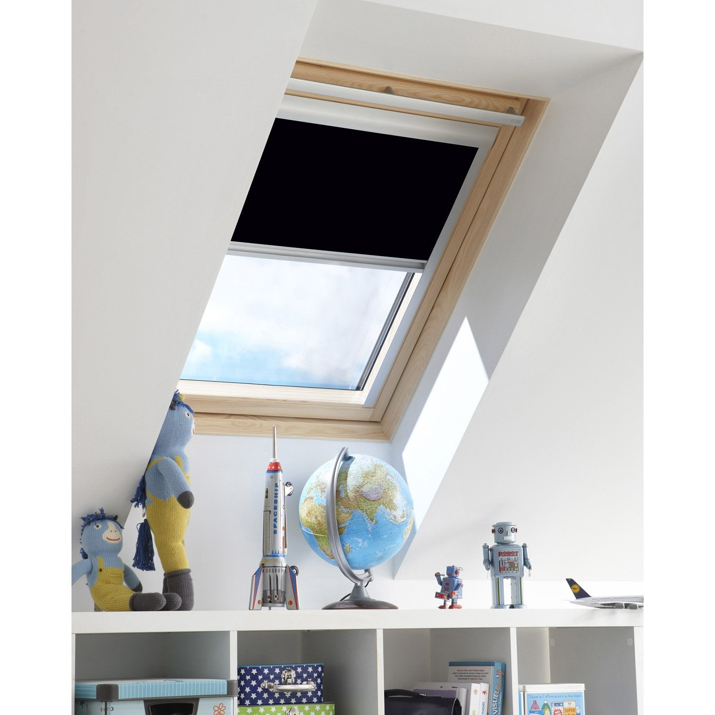 store fen tre de toit occultant noir noir noir noir n 0. Black Bedroom Furniture Sets. Home Design Ideas