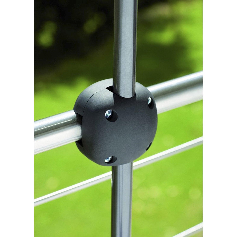 Pied de parasol foxi noir leroy merlin - Pied telescopique leroy merlin ...