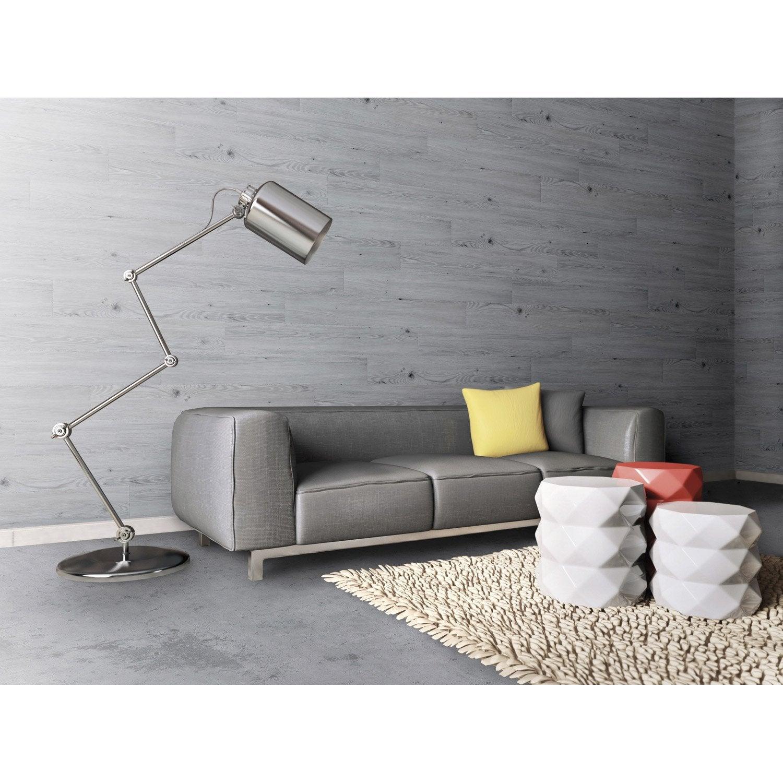 Dalle PVC adhésive urban pie GROSFILLEX L.91.4 x l.15.24 cm x Ep.4 mm | Leroy Merlin