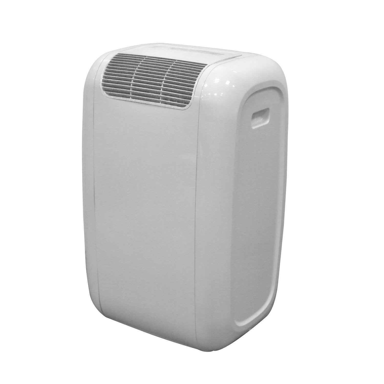 Climatiseur mobile blanc celcia 2600w leroy merlin - Climatiseur reversible leroy merlin ...