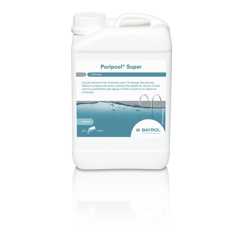 Hivernage piscine bayrol puripool super liquide 3 l Produit hivernage piscine leroy merlin