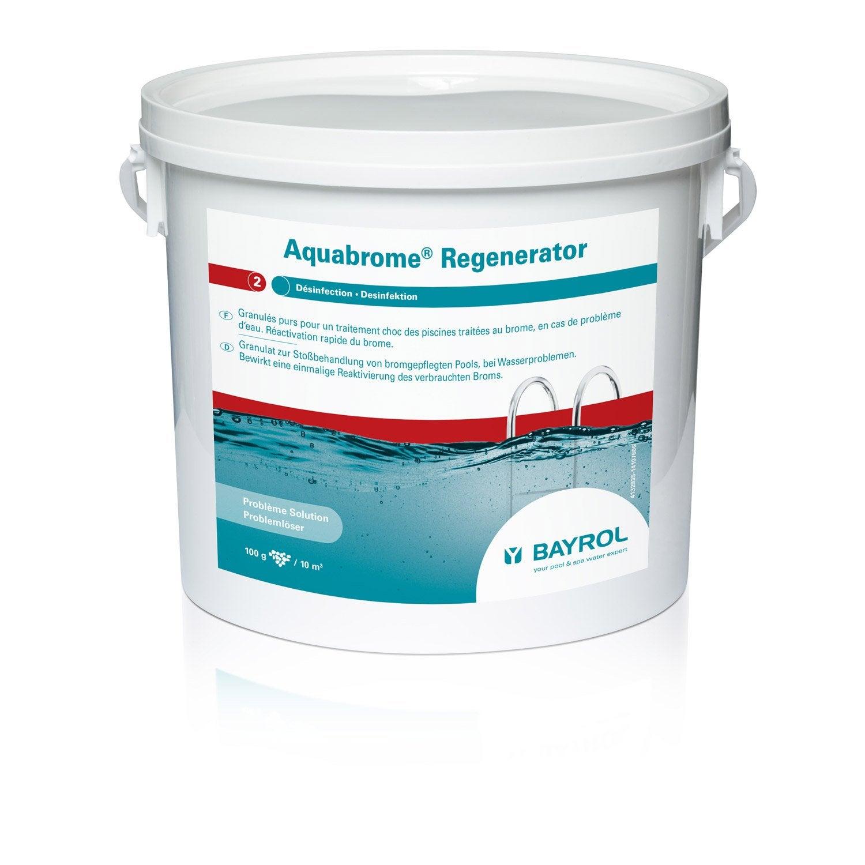 R g n rateur de brome piscine bayrol aquabrome regenerator for Brome piscine danger