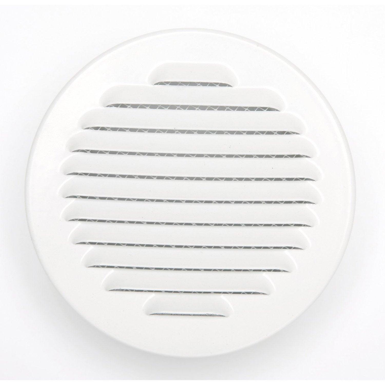 grille d 39 a ration encastrer aluminium laqu 15x15cm leroy merlin. Black Bedroom Furniture Sets. Home Design Ideas