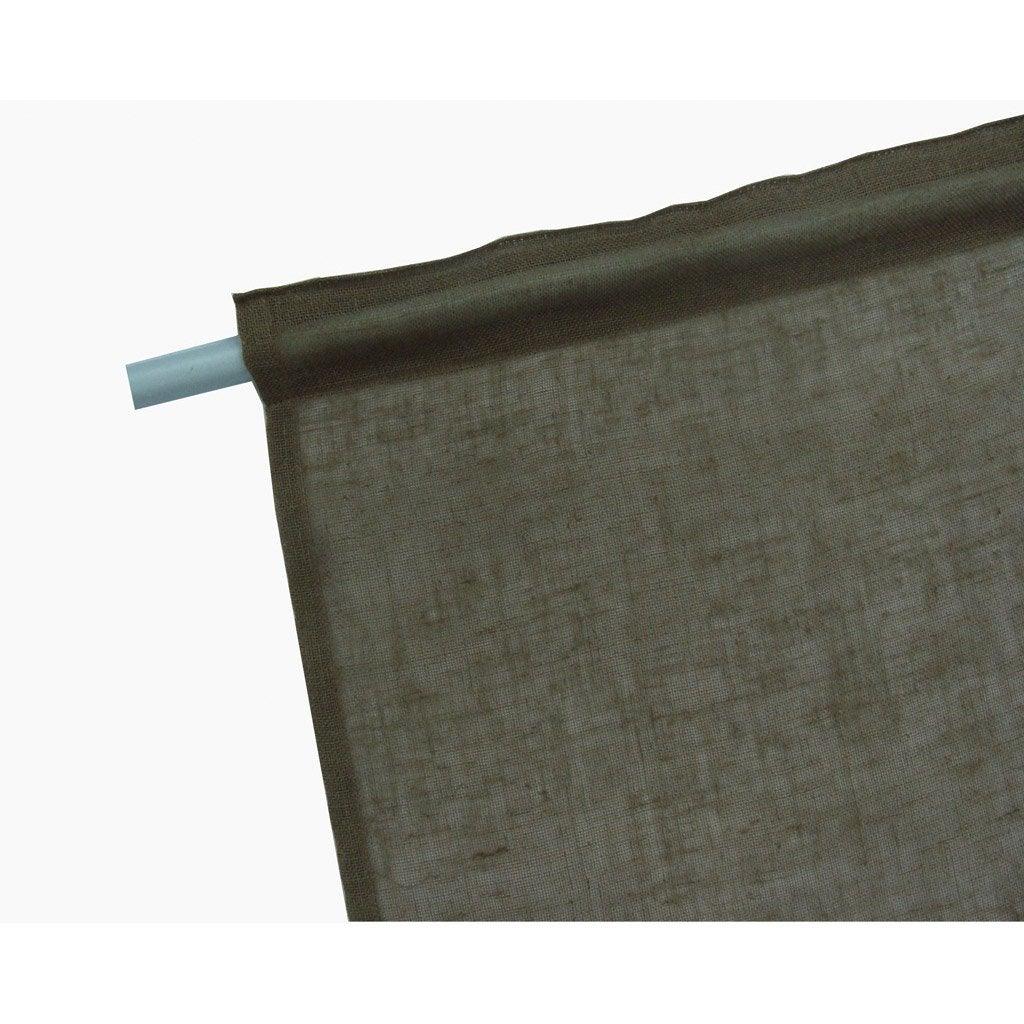 panneau japonais aspect lin chocolat 260 x 50. Black Bedroom Furniture Sets. Home Design Ideas