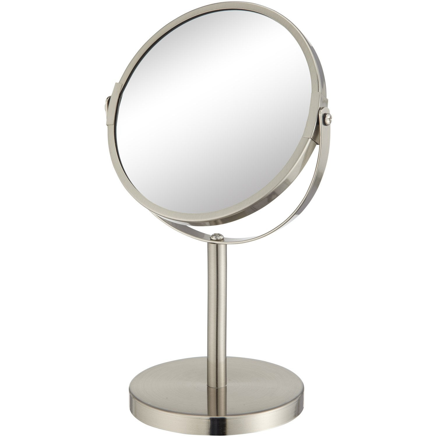 Miroir grossissant x 2 5 rond poser x beauty for Miroir a poser sur table