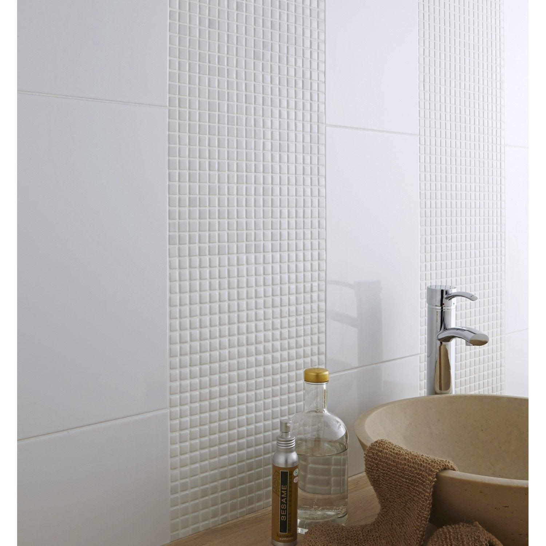 Mosa que mur pop blanc leroy merlin - Mosaique adhesive leroy merlin ...