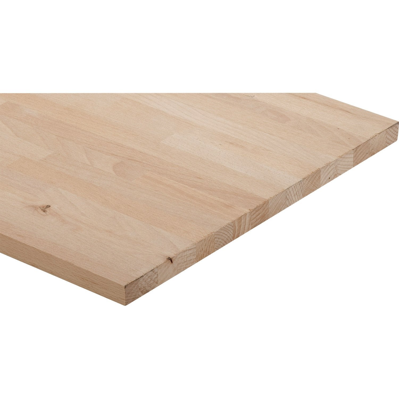 tablette h tre lamell coll x cm x mm leroy merlin. Black Bedroom Furniture Sets. Home Design Ideas