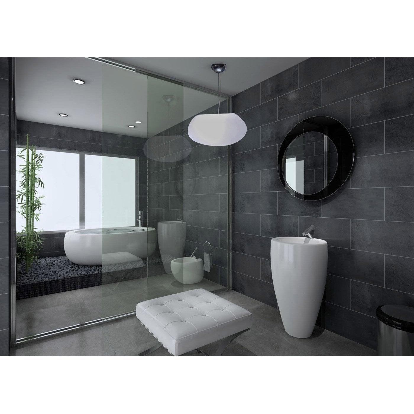 suspension petra 40 hang sans ampoule 0 e27 blanc froid. Black Bedroom Furniture Sets. Home Design Ideas