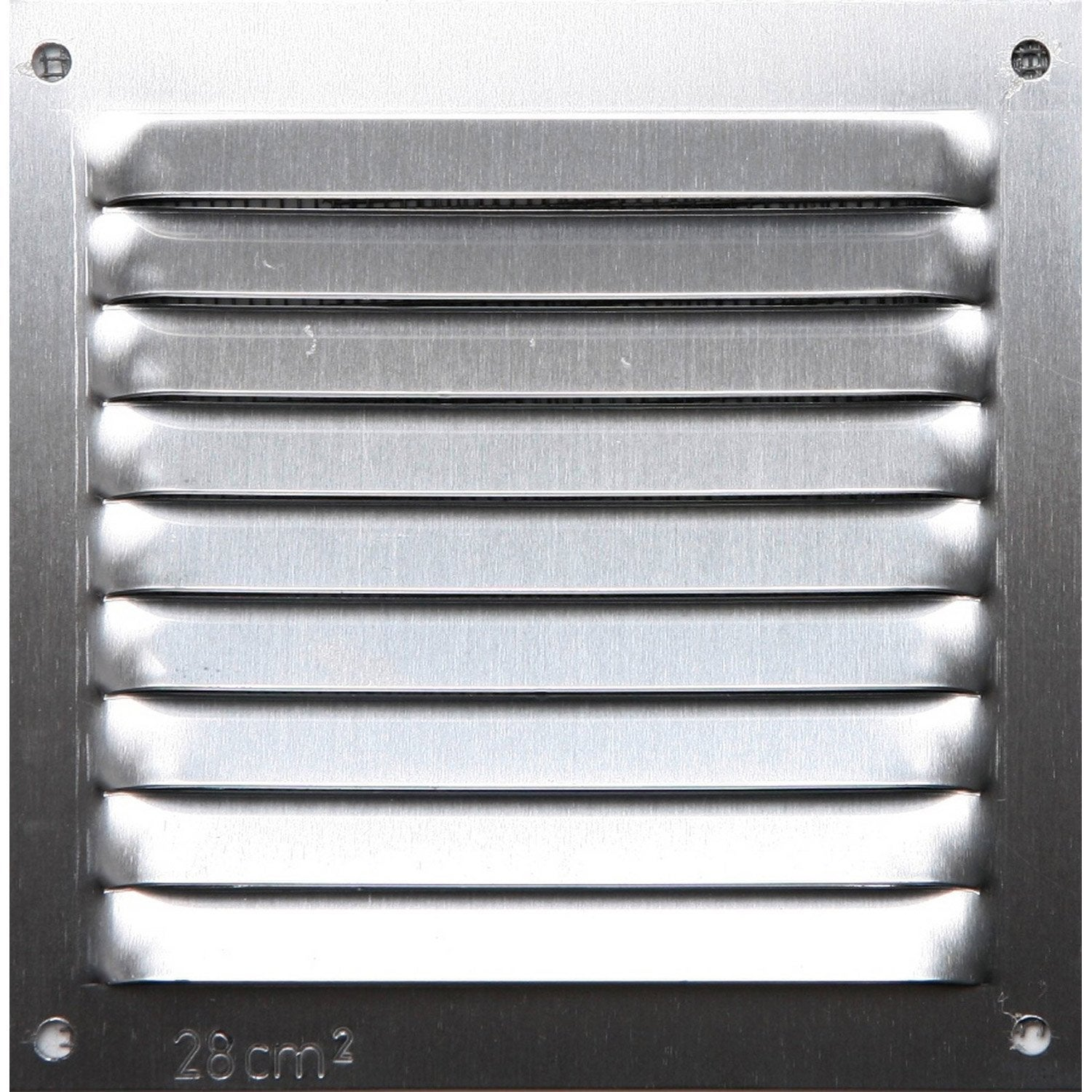Grille d 39 a ration aluminium anodis x cm for Cortinas 10 x 10