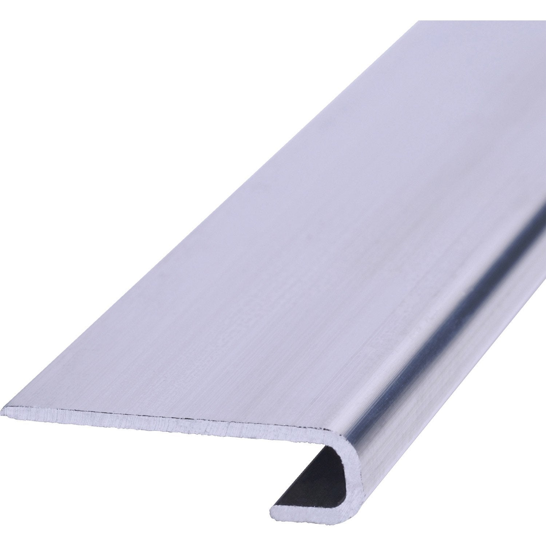profil de d part aluminium aluminium 8 x 30 mm 2 7 m leroy merlin. Black Bedroom Furniture Sets. Home Design Ideas