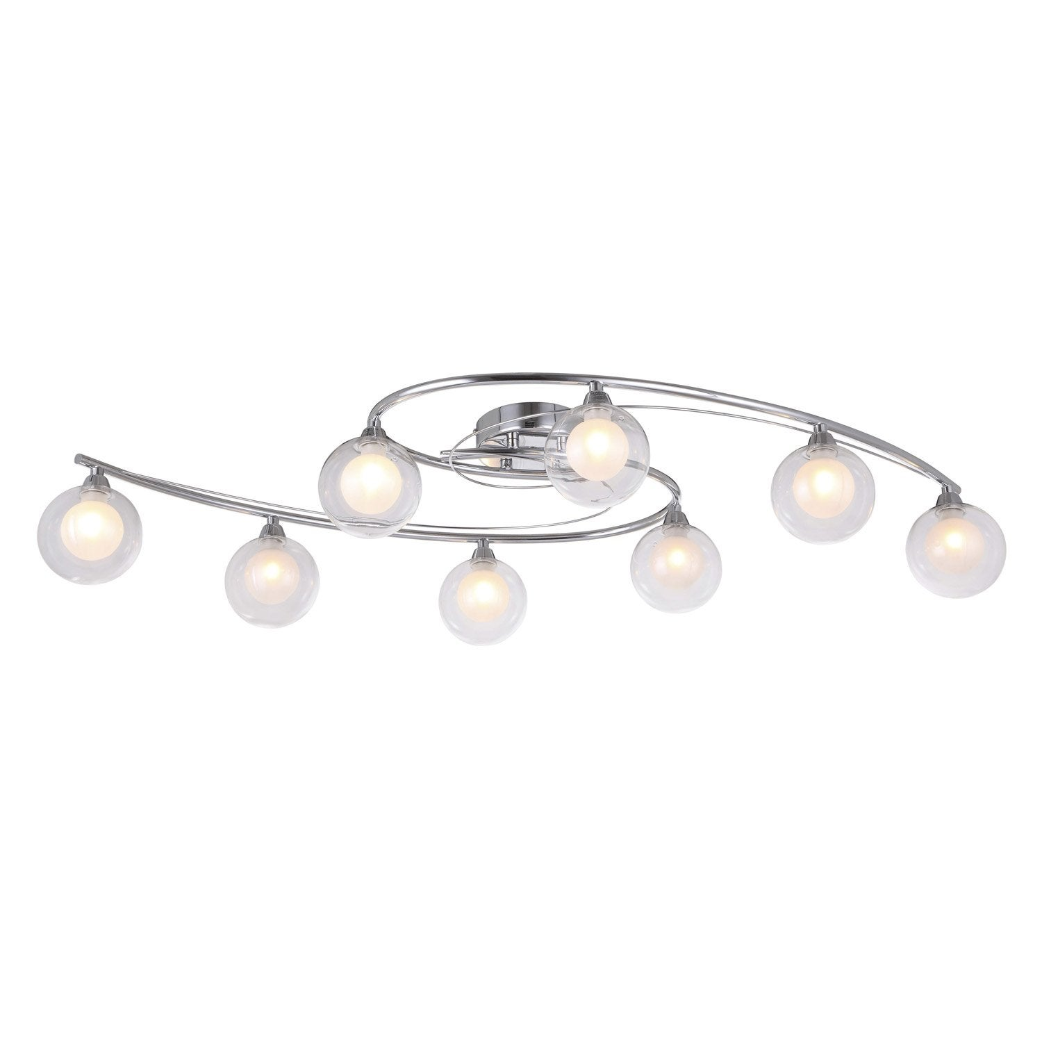 Plafonnier altea seynave chrome 33 w leroy merlin for Leroy merlin luminaire