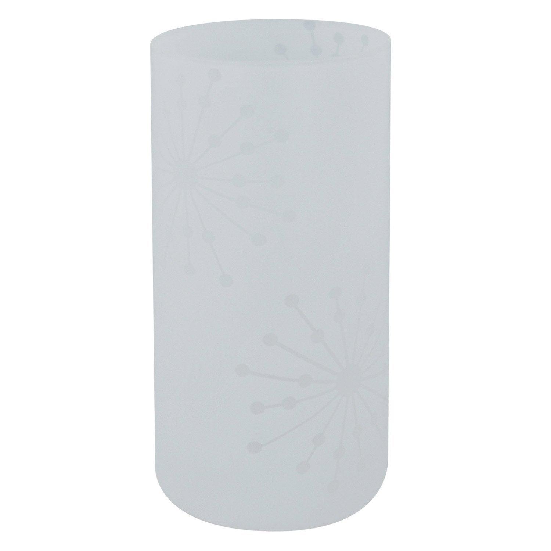 Lampe atona inspire verre blanc blanc n 0 40w leroy merlin - Protection table en verre leroy merlin ...